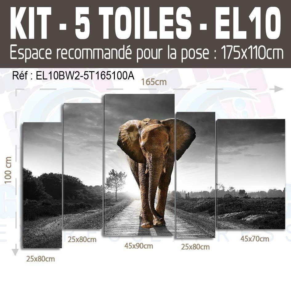 175x125cm- ENCRE Kit 5 TOILES IMPRIMEE NEW YORK  ENCRE 175x125cm- PEINTURE TABLEAUX INK01-5TTBIG 6f3a56