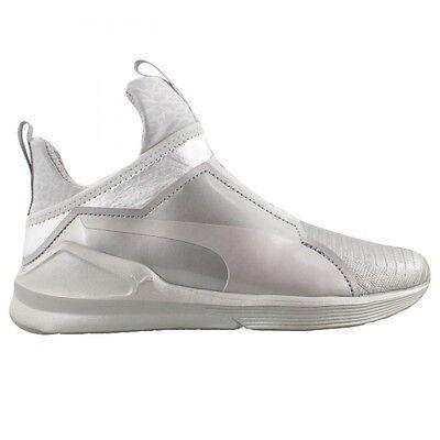 Puma Women's KYLIE JENNER FIERCE METALLIC Shoes Silver 189865 01 a | eBay