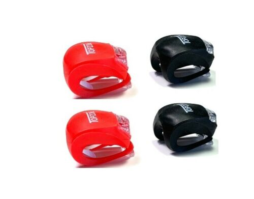 4 pc Bike Light Bicycle Lamp Safety Led Waterproof Front and Rear Light