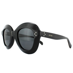 a7c35a77b284 Celine Sunglasses 41445S Lola 807 IR Black Blue Grey 762753705440