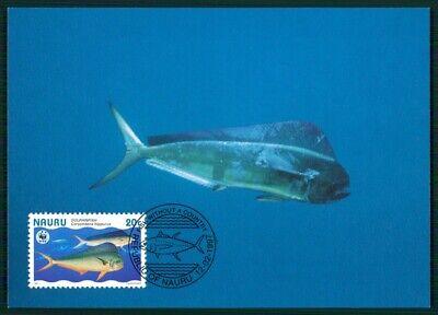 FäHig Nauru Mk 1997 Fauna Fische Tropical Fish Pesce Peche Maximumkarte Mc Cm En38 GroßEr Ausverkauf