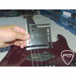 understring radius gauge for guitar bass fingerboard stainless steel ebay. Black Bedroom Furniture Sets. Home Design Ideas