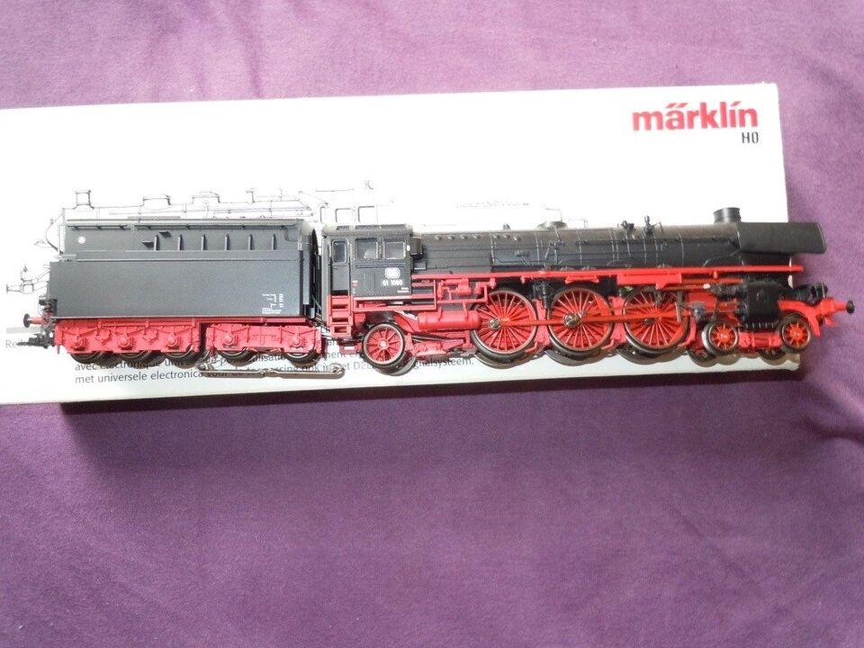 Modeltog, Märklin, digital Damplok 01 160 m/lyd & røg