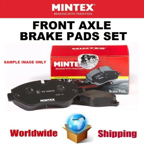 MINTEX Front Axle BRAKE PADS SET for VAUXHALL ASTRA Mk VI 1.6 Turbo 2010->on