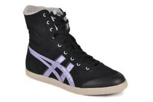 Zapatos-Paseo-Asics-Moda-Mujer-Kaeli-Hi-Black-36
