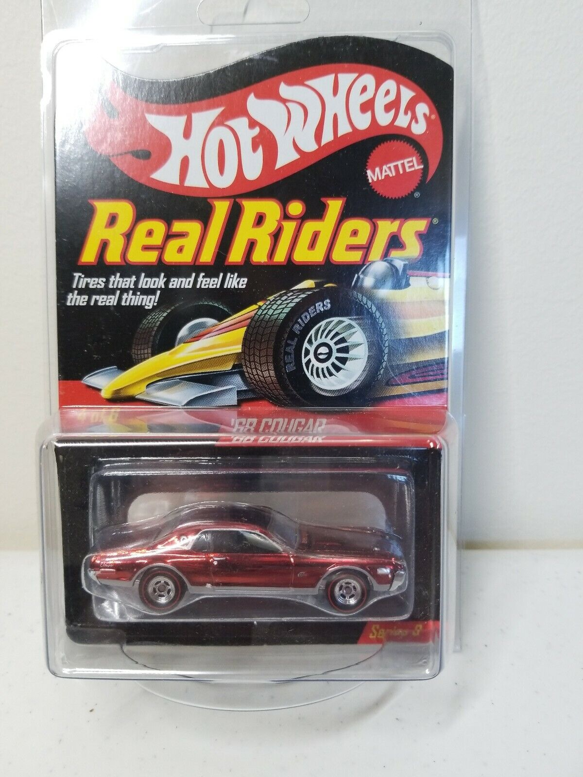 Real Riders 4 Of 6 Series 9 68 Cougar