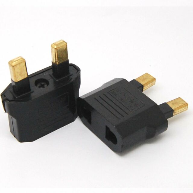 10xUniversal Travel Power Plug Adapter USA us//EU EURO Asia to uk United Kingdom