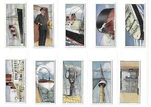 MARS CONFECTION - Wonders of the Queen Mary - Set of 25 - 1936 - Very Good.