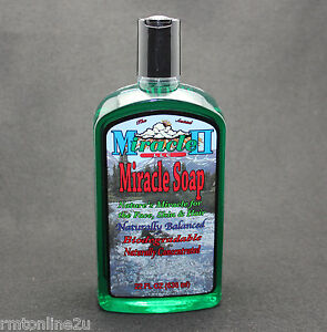 MIRACLE-II-SOAP-22-oz-REG-SAFE-IN-WATER-then-SAFE-WITH-MIRACLE-II-FREE-SHIP