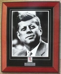 President John F Kennedy Framed Photo Matted To Include