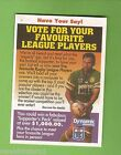 1994 Series 1 RUGBY LEAGUE PROMO CARD - LAURIE DALEY