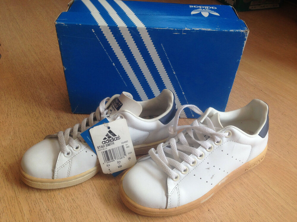 OG 2007 Adidas Stan Smith leather vintage sneakers Taille US4 UK3.5 EUR36