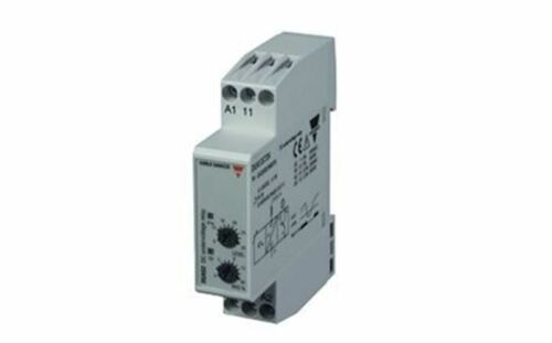 Carlo Gavazzi Voltage Monitoring Relay with SPDT Contacts, 12 â?? 24 V dc