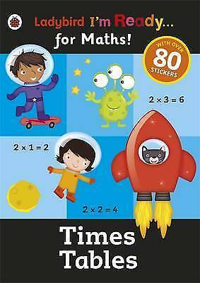 Ladybird I'm Ready for Maths Times Tables Book 2015 P/Back
