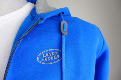 ORIG LAND ROVER Pullover Hoodie Sweater con cappuccio Pullover Blu M L XL XXL