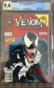 Venom-Lethal-Protector-1-CGC-9-4-NM-NEWSSTAND-VARIANT