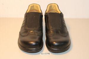 Footprints Maranello Freizeitschuhe Schuhe schwarz Gr. 38 schmal (G3278-A7)
