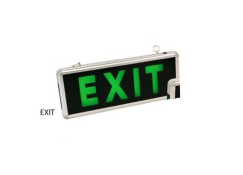Notleuchte Notbeleuchtung LED Exit Notausgang Fluchtwegleuchte Notlicht IP 44