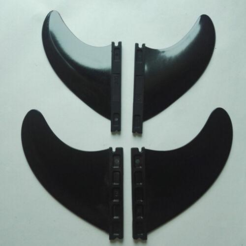 4 Fin Thruster Surfboard Fins Replacement Surfboard Fins Quad Fins Set