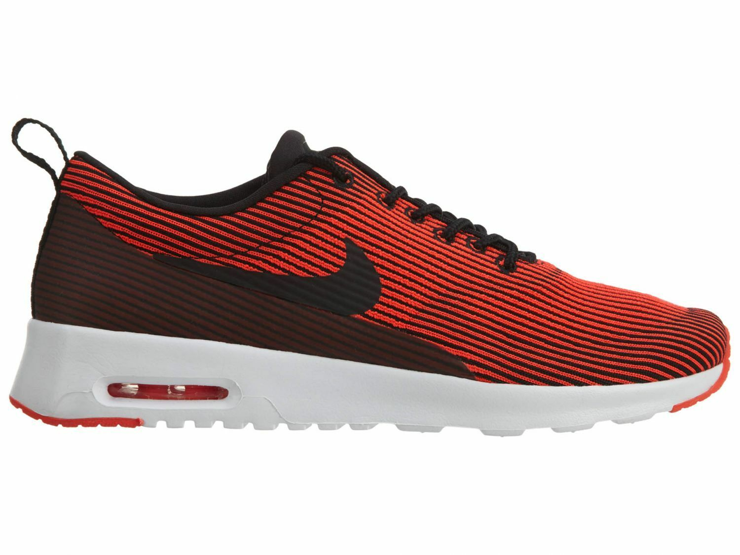 Nike Air Max Thea Kjcrd Womens 718646-007 Crimson Black Running Shoes Size 9.5