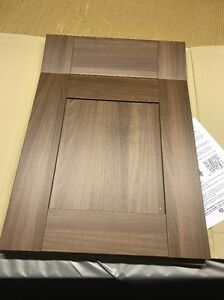 Walnut shaker 500 mm wide door and draw x 715mm kitchen for Kitchen cabinets 500mm wide
