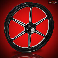 "Harley Davidson 32"" inch Custom Front Wheel ""Malice"" by FTD Customs"