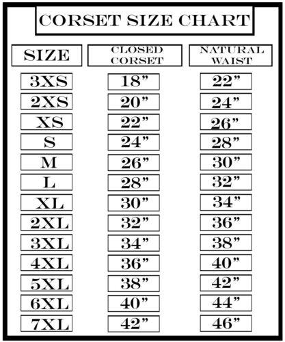 Heavy Duty Steel Boned Underbust Hourglass Mesh Corset for shaping 3XS ~ 7XL