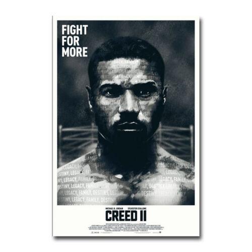 Creed II 2 Rocky Balboa Movie Art Silk Poster 13x20 20x30 inch