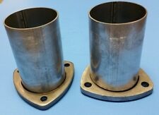 """3"""" HEADER TO 3"""" OD ALUMINIZED 3 BOLT FLANGE GASKET STYLE COLLECTOR REDUCERS USA"""