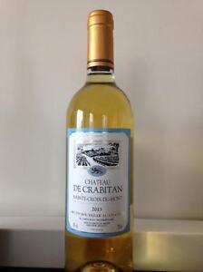 Une-bouteille-de-Liquoreux-Chateau-de-Crabitan-Sainte-Croix-du-Mont-2013