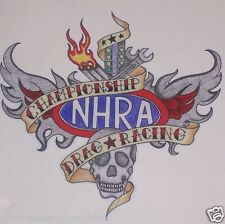 NHRA Tattoo Full color Window Decal Sticker Graphics Decals Stickers Drag Racing