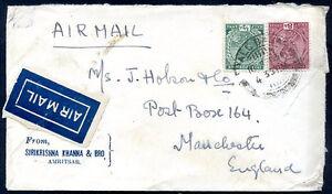 L-039-Inde-britannique-a-la-Grande-Bretagne-Air-Mail-Cover-1935-VF