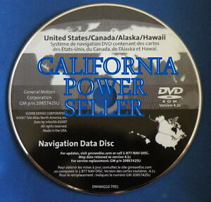 NEW SEALED 4.1C MAP DISC DISK DVD CD SOFTWARE UPDATE DATA NAVIGATION ...