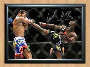 Daniel Ryan Cormier UFC MMA Kickboxing Signed Autographed A4 Print Poster Photo