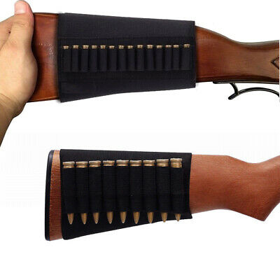 1pc 14 Rounds .22 Ruger 10//22 Elastic Buttstock Rifle Shell Ammo Holder Stock