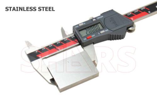 "SHARS Aventor 8/"" //200mm DPS IP67 Electronic Digital Caliper DIN862 .0005/"" NEW"