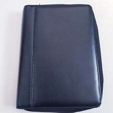 Franklin Covey Binder Planner365 Stylecd Black Faux Leather Zip Closure Pocket