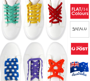 Colourful-Shoe-Laces-Bootlace-Shoelaces-Sneakers-Runners-Coloured-Flat-120-cm