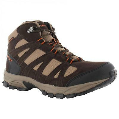MENS HI TEC ALTO LEATHER HIKING WATERPROOF WORK BOOTS WALKING TRAINERS SHOE SIZE