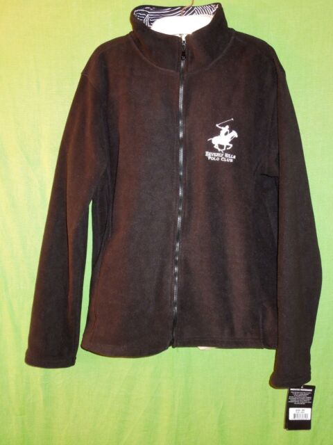 81d8a7bda Beverly Hills Polo Club Sweatshirt Fleece Size L Polyester Black Long  Sleeve for sale online | eBay