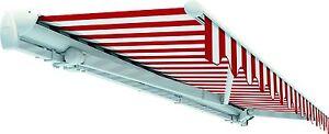 Halbkassettenmarkise-Elektrisch-Alu-Markise-Balkon-Terrrase-Sonnenschutz-6m-5m
