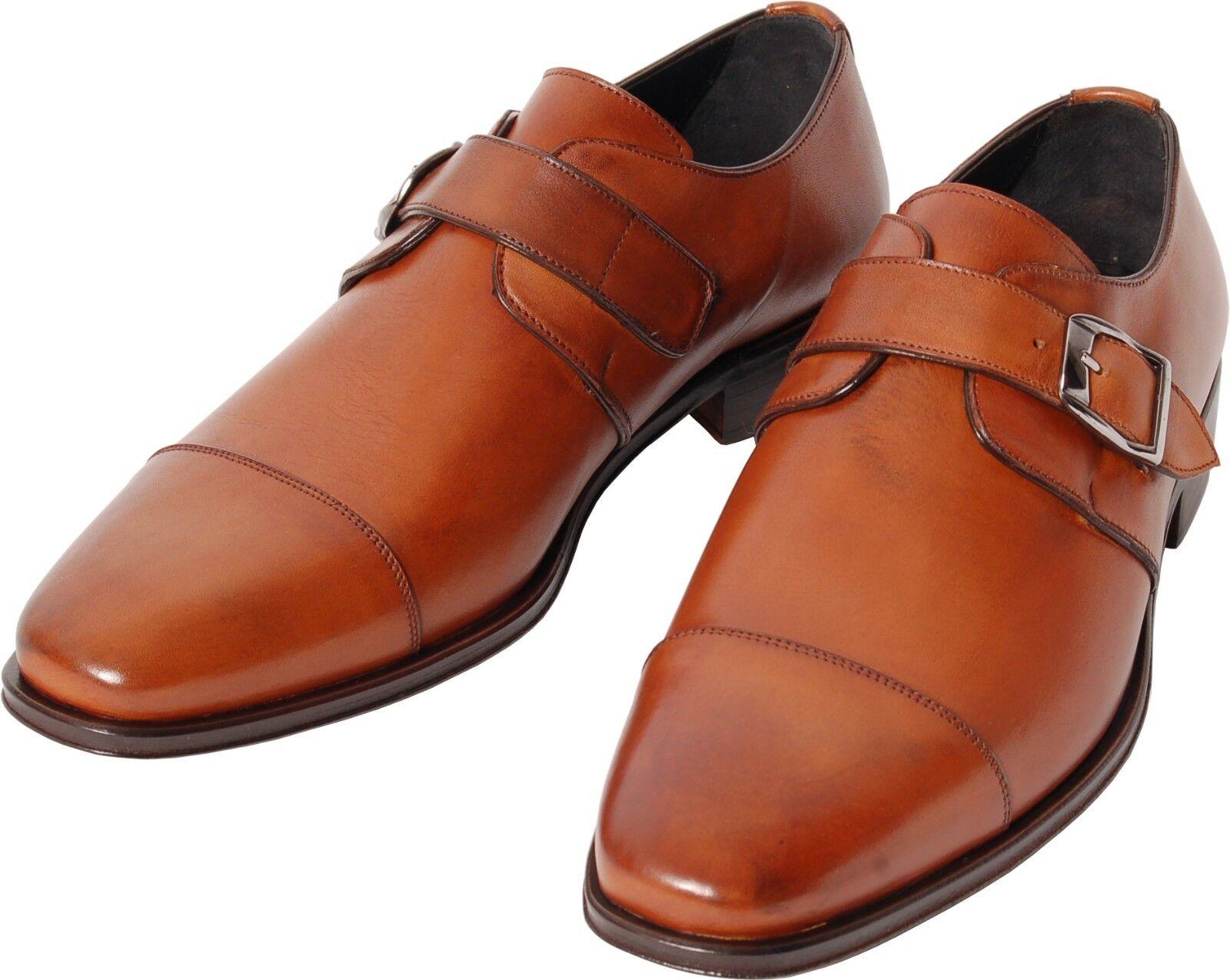 ACC   Fait Main   Italien Boucles Chaussure   Monkstrap   506 M