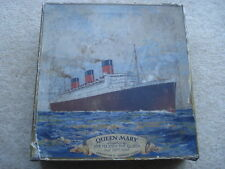 RARE C1936 MAC FARLANE LANGS THE QUEEN MARY SOUVENIR BISCUIT TIN