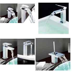 Rubinetti miscelatori bagno effetto cascata led cromoterapia per lavabo bidet g ebay - Rubinetteria a cascata bagno ...