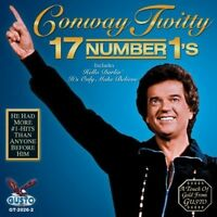 Conway Twitty - 17 Number 1s [new Cd] on Sale
