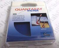 55mm Japan Made 80a 80-a Light Balancing Blue Glass Lens Filter 55 Mm Quantaray