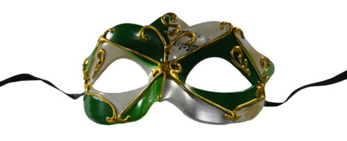 New Arrival Musical Notes Masquerade Mask Green