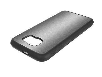 TPU Brushed Schutz Hülle Handy Case Tasche Cover Schale Etui Silikon Aluminium
