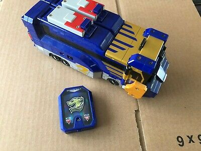 Power rangers RPM Japanese High Octane Blue lorry zord and ...