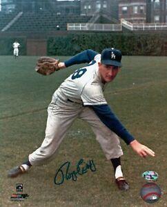 Roger-Craig-Signed-8X10-Photo-Autograph-LA-Dodgers-at-Wrigley-Pose-Low-Auto-COA